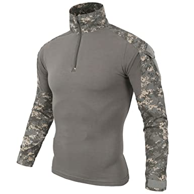 ee91a848e63f Be Dreamer Combat Shirt Men's Military Airsoft BDU Shirt Combat Tactical  Long Sleeve Shirt,Multicam. Roll over image to ...