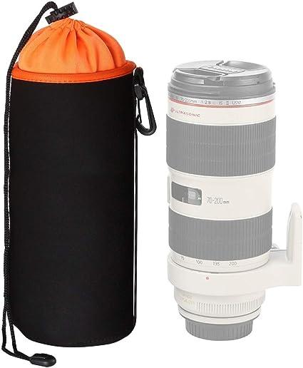 Sacchetti per lenti DSLR Alta protezione 4 x custodie per obiettivi fotocamera