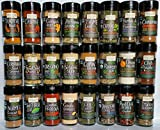 Frontier Gourmet Top 24 Spice Set - Great Gift for Foodie , Newlywed or Housewarming.Paleo and Whole30