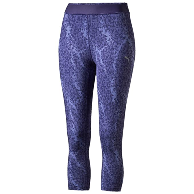 d91d49ee18c505 Image Unavailable. Image not available for. Color: Puma WT All Eyes On Me 3/ 4 Capri Womens Running Tights ...