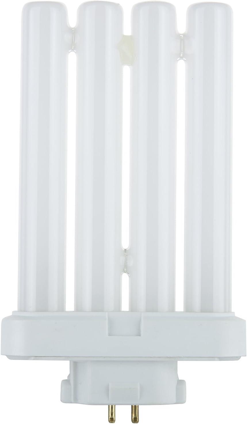 Sunlite FML27/65K/CD1 27-watt FML 4-Pin Quad Tube CFL Light Bulb, GX10Q-4 Base, Daylight