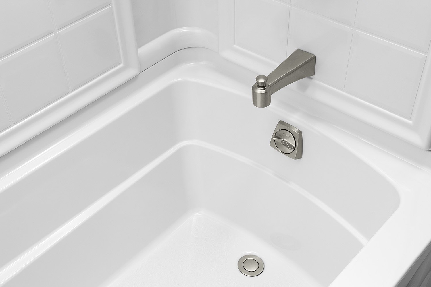 Sterling Plumbing 71110110-0 Ensemble Bath and Shower Kit, 60-Inch x ...