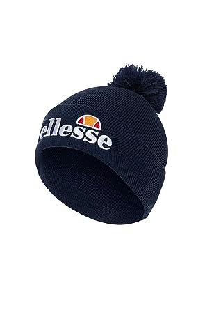 ea550ed4f ellesse BEANIE VELLY GREY BOBBLE HAT