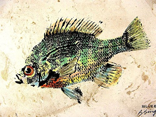 Gyotaku Fish Prints - 9