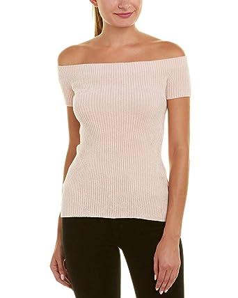 209dbc9062 Amazon.com  Helmut Lang Womens Off-The-Shoulder Sweater
