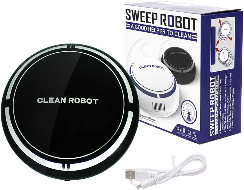 Hankyky Robot Aspirador, Barre y Aspira con Navegación Inteligente ...
