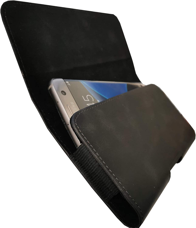 Funda protectora cruzada con manga cruzada con clip para el cintur/ón y trabilla XXL negro Funda de cintur/ón adecuada para Samsung Galaxy S20 ULTRA 5G