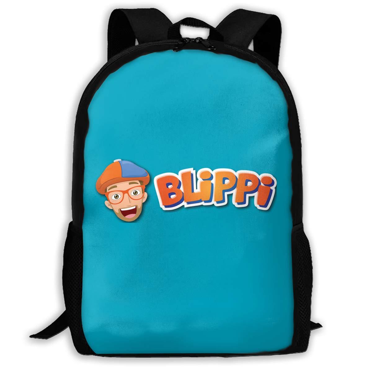 Amazon.com: Laoshi Crafty Blippi Mochila grande para niños y ...