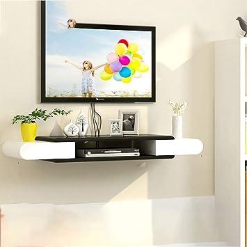 SCH Dormitorio Sala de Estar Estante de Pared TV gabinete TV gabinete enrutador WiFi descodificador Reproductor de DVD pequeño Altavoz proyector Soporte Soporte para televisor Caja de televisor Caja: Amazon.es: Electrónica