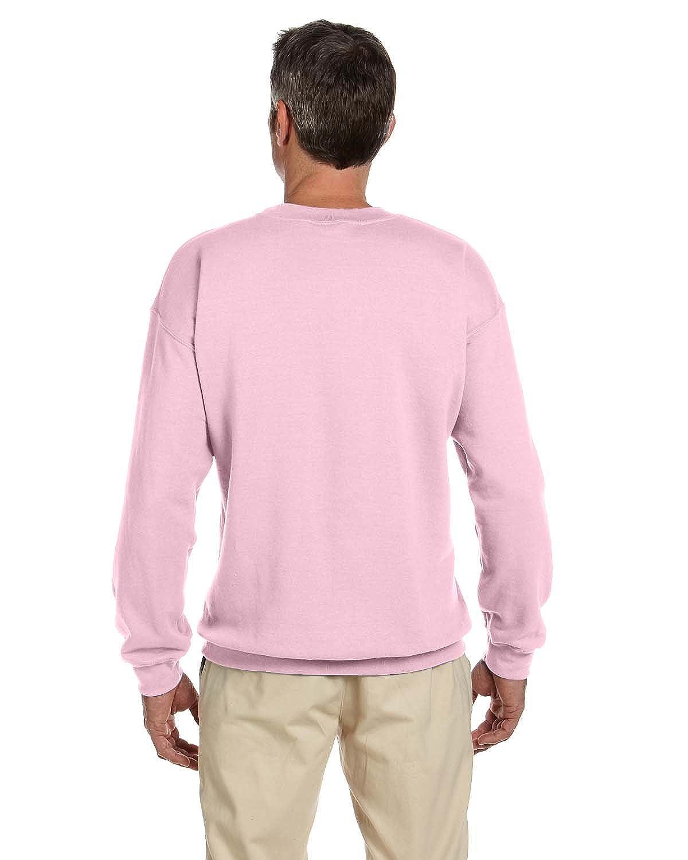 G180 -Light Pink Gildan Mens 8 oz Heavy Blend 50//50 Fleece Crew 5XL-12PK