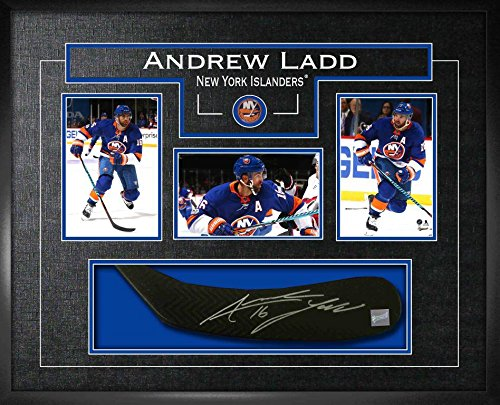 check out 6a09e f2392 Frameworth Andrew Ladd Signed Stickblade Islanders w/3-4x6 ...