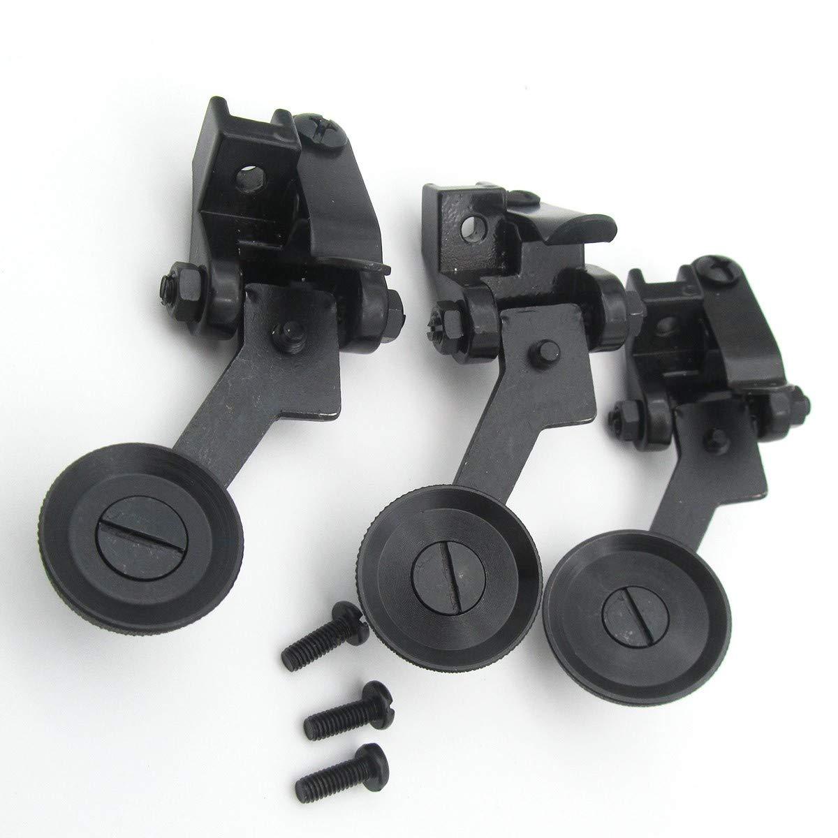 # 12264+ 12265+ 122671set para cantante 31–15449596241251281rodillo máquina de coser pie Set de 3tamaños KUNPENG