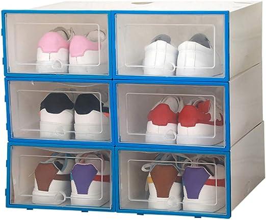 Smilikee Caja de almacenamiento de zapatos de plástico ...