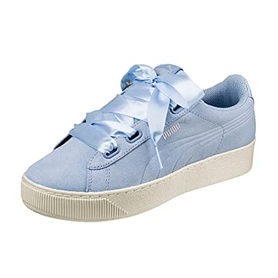Puma Women s Vikky Platform Ribbon S Low-Top Sneakers  Amazon.co.uk  Shoes    Bags 4559b6970