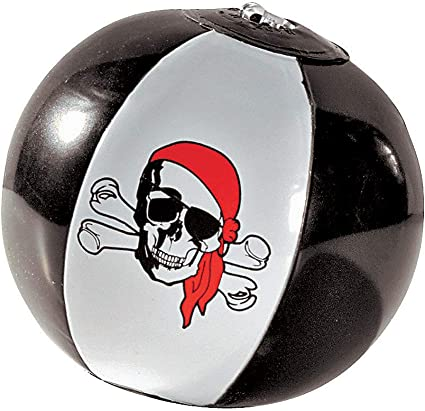 Fun Express Inflates Mini Beach Balls Pirate Mini Beach Ball Toys 12 Pieces