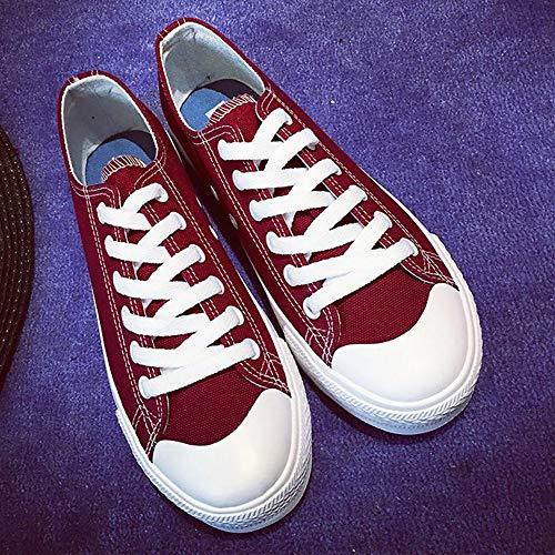 Caminan Para Ligero Femeninos Libre Ysfu Gimnasio Zapatos Mujer Cómodos Ocasionales Deporte De Estudiantes Otoño Zapatillas Lona Que Al Aire ttqZY