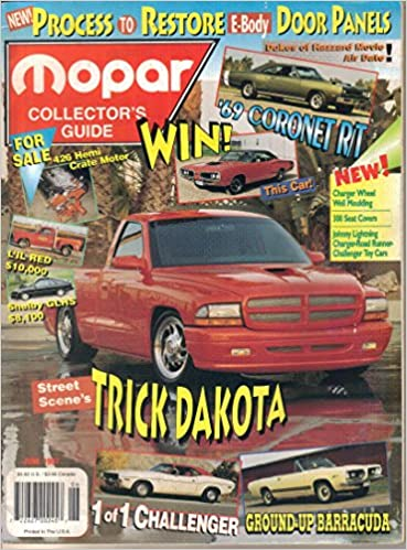 Mopar Collector's Guide Magazine, June 1997 (Vol  10, No  4
