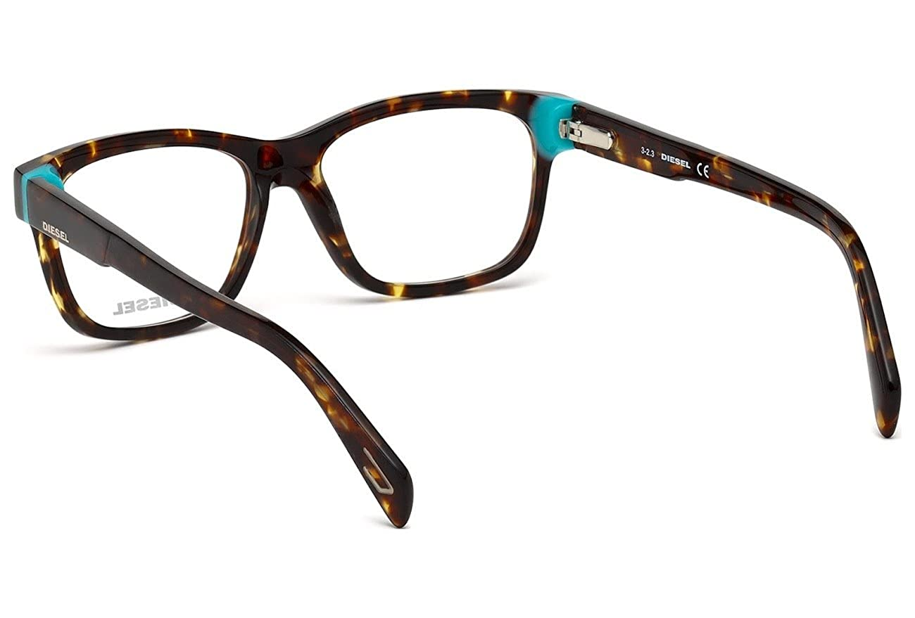 6e6758c8ca0 Amazon.com  Diesel Women s DL5072 Plastic Geometric Brown Frames 53   Clothing