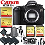 Canon EOS 5DS DSLR Camera (Body Only) International Version (No Warranty) Master Photographer Essential Kit