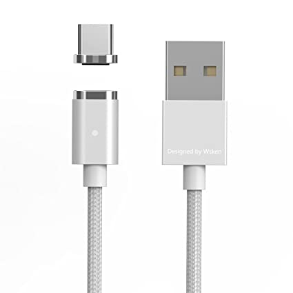 Amazon.com: USB tipo C cable de carga rápida magnético ...