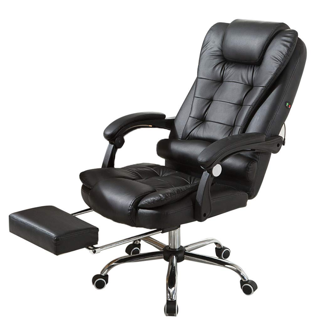 WONdere High-End Computer Chair Office Chair Reclining Home Massage Chair Lift Massage Chair Desk seat (D)