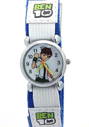 Ben 10 Kids Boys Gilrs Children Men Women Blue Velcro Watch