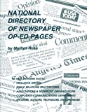 National Directory of Newspaper Op-Ed Pages, Marilyn Ross, 0918880173