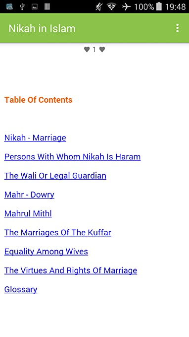 Amazon com: Nikah in Islam: Appstore for Android