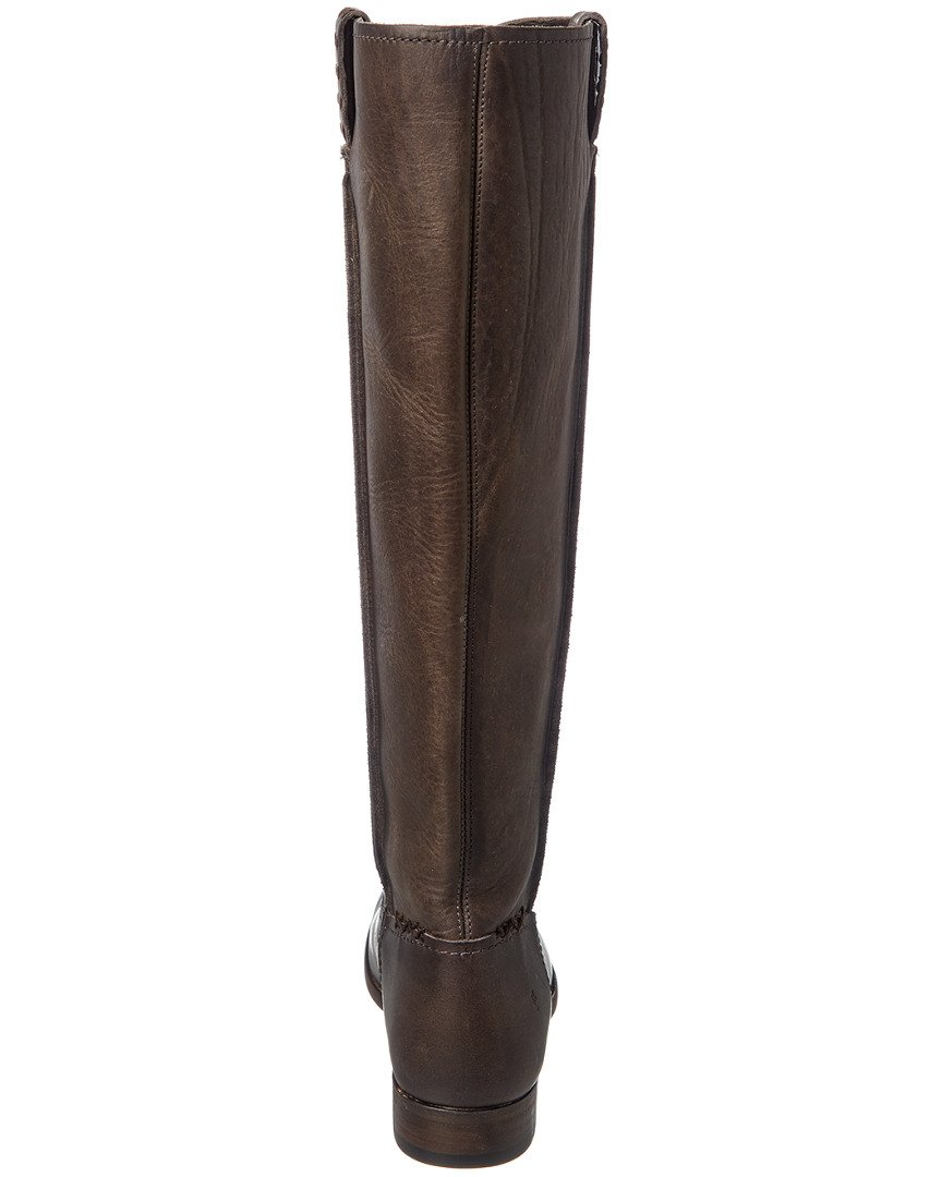 FRYE Women's Cara B01AAA944C Tall Leather Slouch Boot B01AAA944C Cara 6 B(M) US|Smoke Extended 1dfc49