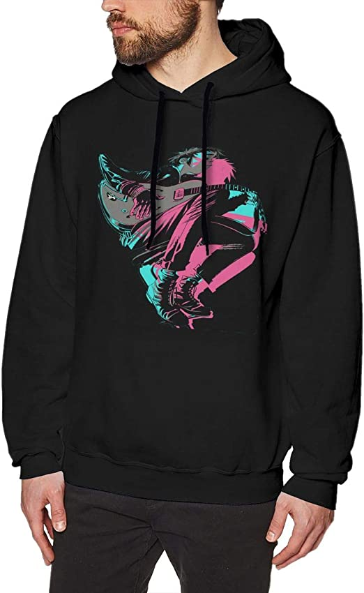 Gorillaz GROUP Pullover Hoodie NEW 100/% Authentic /& Official