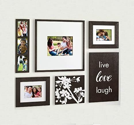 Amazoncom Tyf Photo Wall American Solid Wood Frame Wall