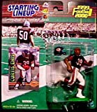 Curtis Enis Action Figure in Chicago Bears Uniform - 1999/2000 Starting Lineup QB Club NFL Series