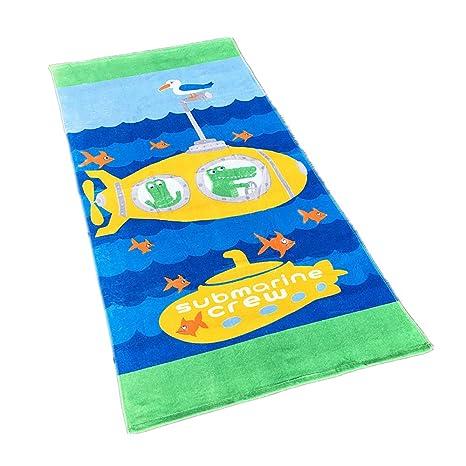 Toallas de Playa,Toalla de baño, Toalla de Dibujos Animados para niños 100%