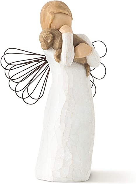 YOUR CHOICE Of 6 Vintage Hand Painted Month Birthday Girl Angel Figurines.