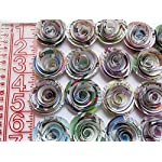 Comic-Book-Page-Roses-Paper-Flowers-Wedding-Decorations-24-Piece-Set-15-Rosettes-Floral-Bridal-Shower-Table-Runner-Decor-Baby-Shower-Superhero-Party-Theme-Birthday