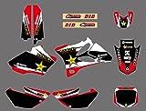 0039 Customized 3M Motorcross Graphic Motorcycle