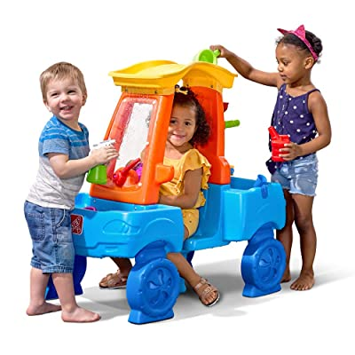 Step2 Car Wash Splash Center | Kids Outdoor Water Table Toy: Toys & Games
