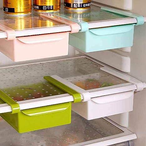 Caja organizadora de frigorífico Wents con cajón deslizante para nevera, estante extraíble para cajón de nevera, estante para frigorífico, caja de almacenamiento para el hogar: Amazon.es: Grandes electrodomésticos