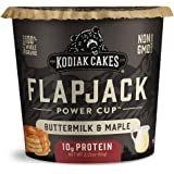 Kodiak Cakes Protein Pancake Flapjack Cup, Buttermilk and Maple, 2.15 Ounce (Pack of 12)