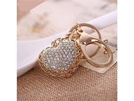 DOOUYTERT Wow Moda Diamante Calado Amor Serie Colgante ...