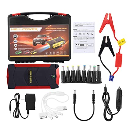 Portable Car Jump Starter SAFETYON 600A 82800mAh 12V Auto Battery Booster  Phone Charger Portable Power Pack 4fb853246a93