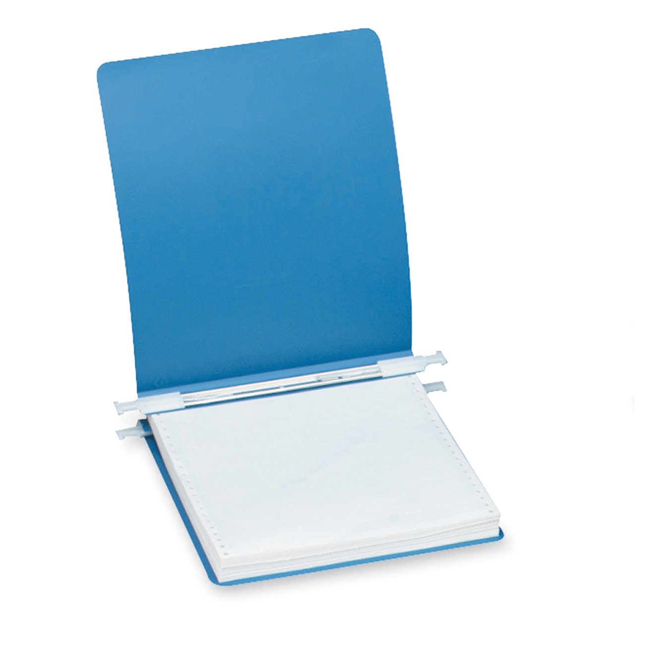 AccoHide Poly Hanging Data Binder, Unburst, 9.5 x 11-Inch Sheet Size, 9-Inch Centre, Blue 56003
