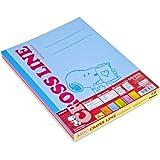 ナカバヤシ クロスラインノート B5 5冊パック A罫 スヌーピー 学習帳 ノS-58A-5P