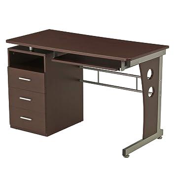 Fabulous Amazon Com Computer Desk With Ample Storage Color Download Free Architecture Designs Scobabritishbridgeorg