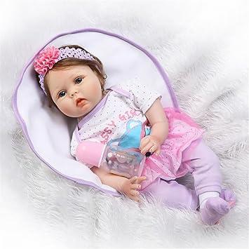 Amazon.es: Realista Toddlers Renacer bebé Muñecos Silicona Babies ...