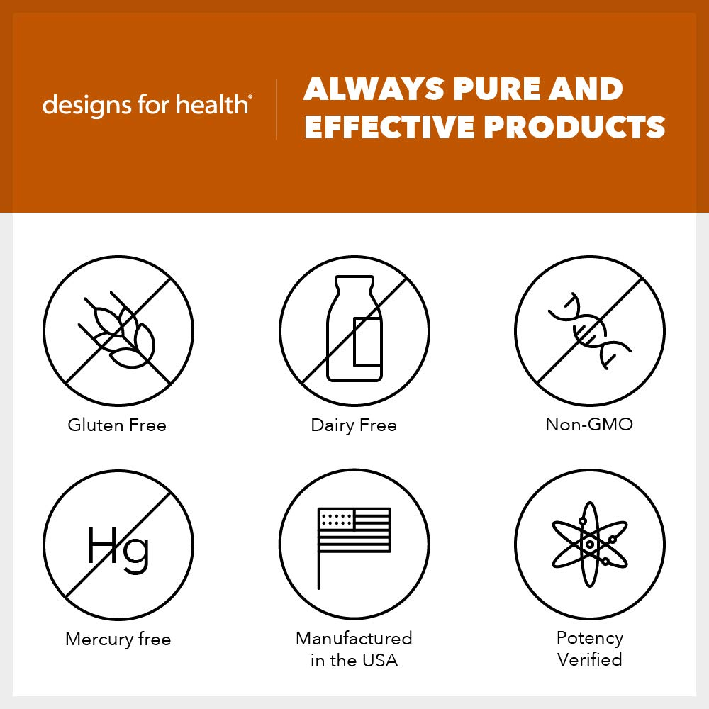 Designs for Health - OmegAvail Hi-Po - 1500mg Triglyceride (TG) Fish Oil, 60 Softgels by designs for health (Image #4)