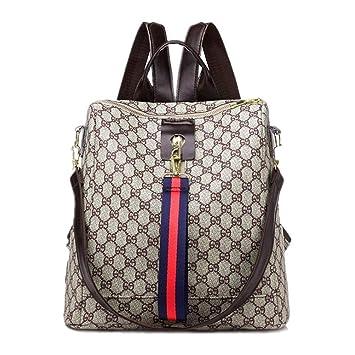 00f854062de4c ETESCO Mode Damen Rucksack Tasche Leder Daypack Wasserdichte Handtasche  Leder PU Backpack Freizeitrucksack Anti-Diebstahl
