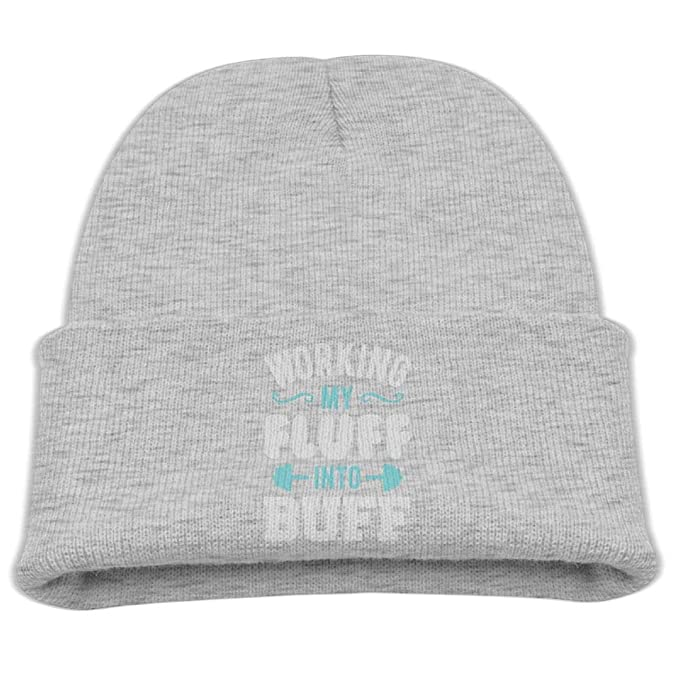 Amazon.com  cqelng oii Working My Fluff Into Buff Skull Hat Beanies ... 6bab39c1868