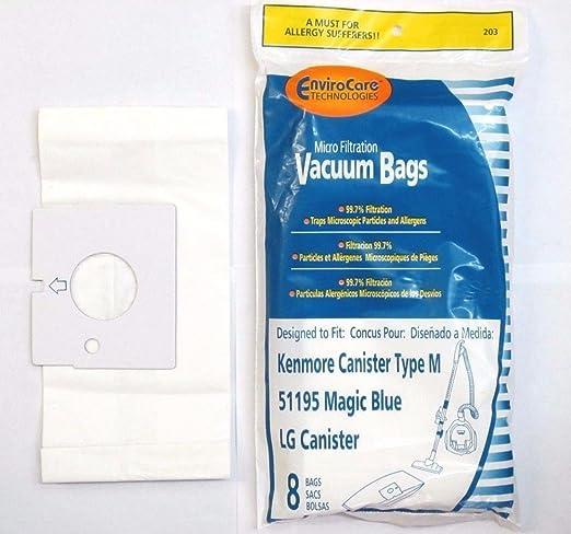 Bolsas para aspiradora Kenmore 51195 Magic azul ...