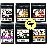 Microwave Pork Rinds Assortment 6 Flavors (12 - 2oz Pkgs) Gluten free
